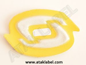 Pvc label, plastic label, sewable label, soft label, color label