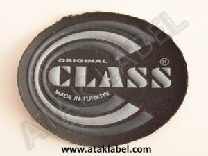Screen printing leather label, pvc label, plastic label, faux leather label, pleather label, shoe label, inner sole label
